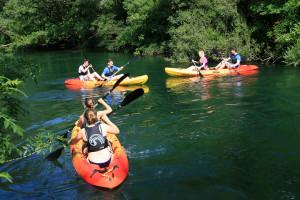 Kayaking and snorkeling tour